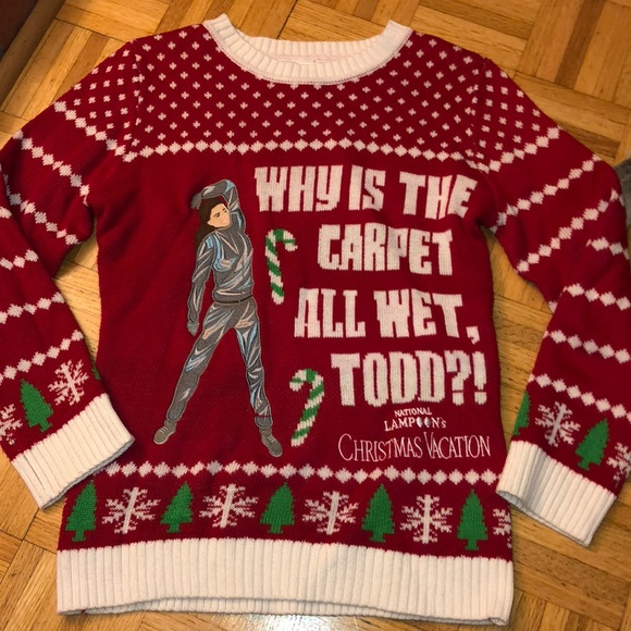 National Lampoons Christmas Vacation Ugly Sweater